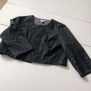 Cato crop blazer